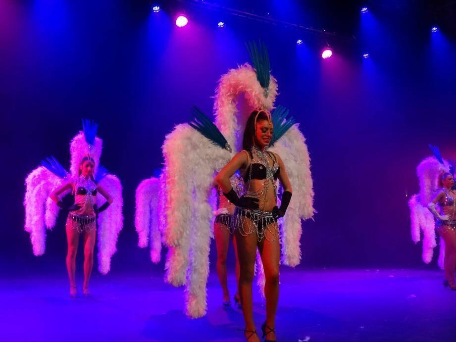 La troupe « Ladies Cabaret » a participé à cette soirée de la générosité et de la solidarité offerte par le Lions club.