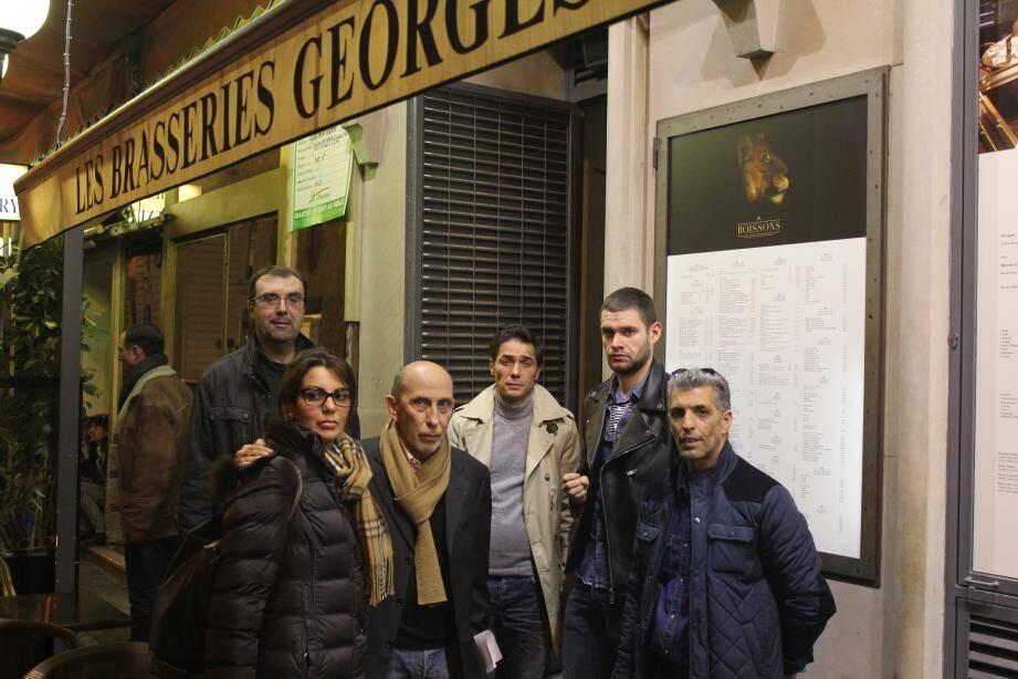 Les vingt-huit salariés des brasseries Georges ont perdu leur emploi, hier.