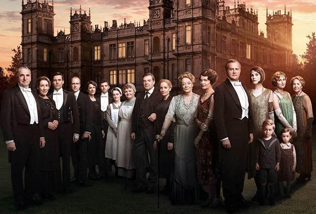 Tout le Clan Crawley, une dernière fois au rendez-vous. (DR)