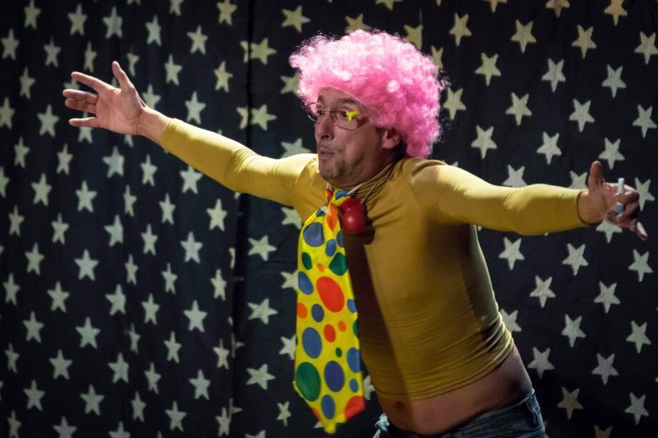 Didier Super, clown punk.(DR)