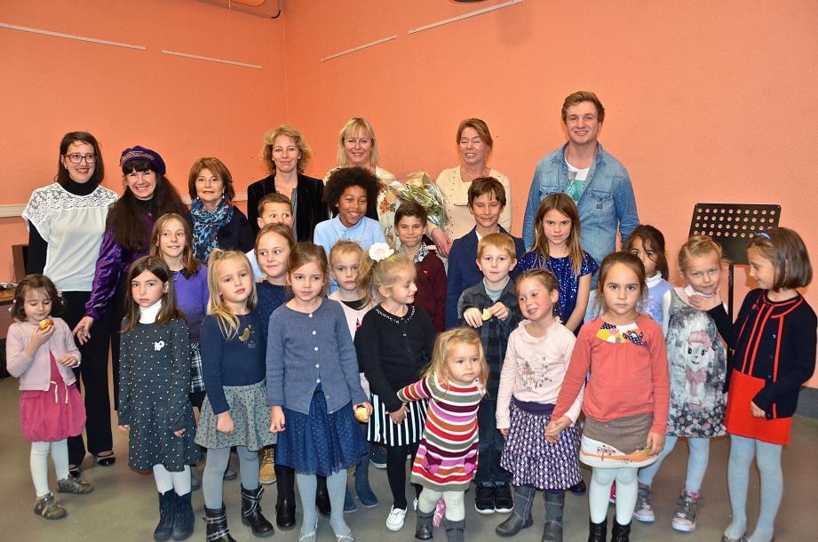 Petits et grands, pianistes et violonistes, guitariste et chanteur, élèves et professeurs, tous ont donné le meilleur d'eux-mêmes pour une Sainte-Cécile chaleureuse.