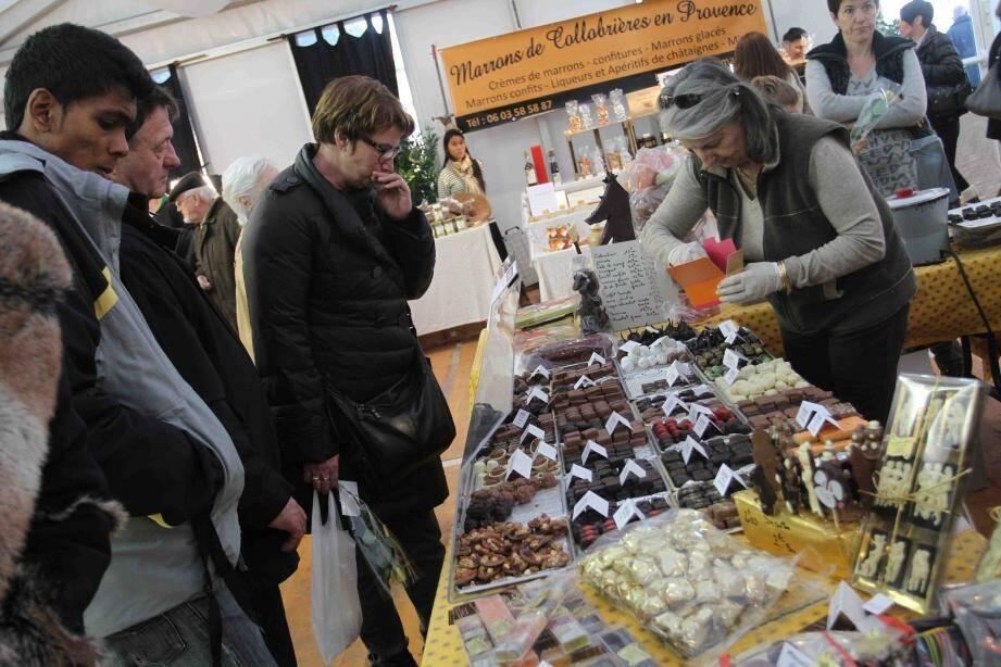 Le salon Plaisirs et chocolat reste une valeur sûre des animations proposées en fin d'année par la commune.