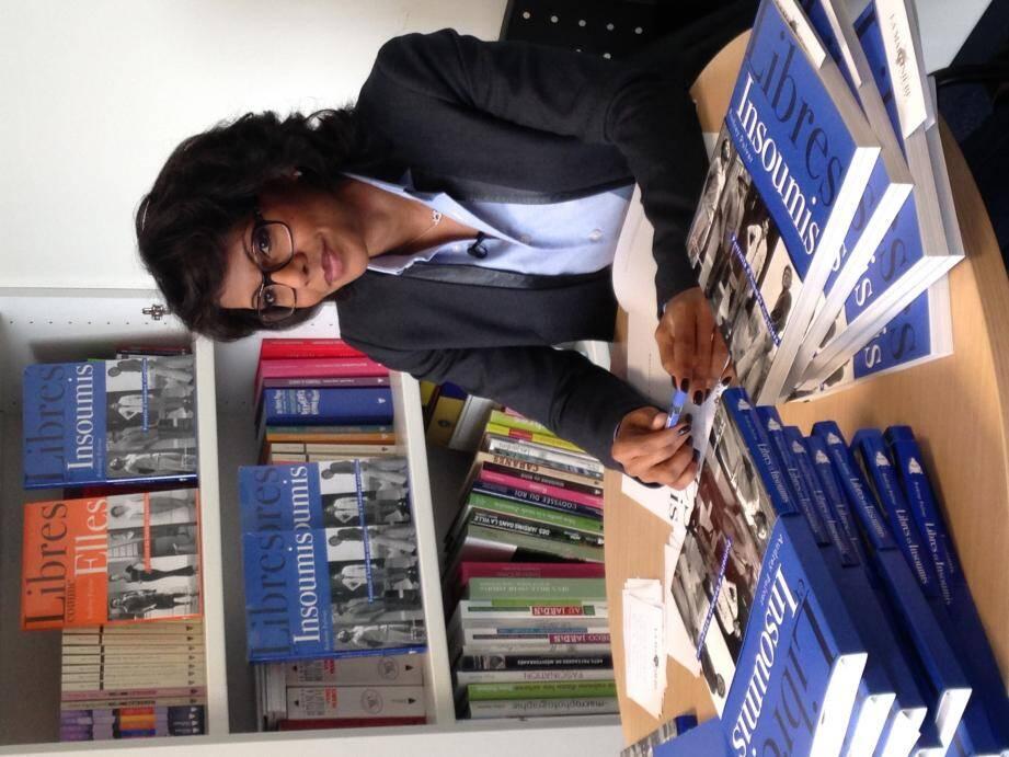 Audrey Pulvar rencontrera ses lecteurs autour d'une discussion et d'une signature de son dernier ouvrage « Libres et insoumis ».
