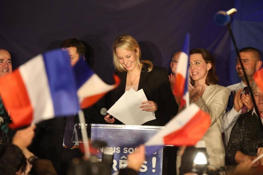 Marion Maréchal-Le Pen largement en tête du premier tour...