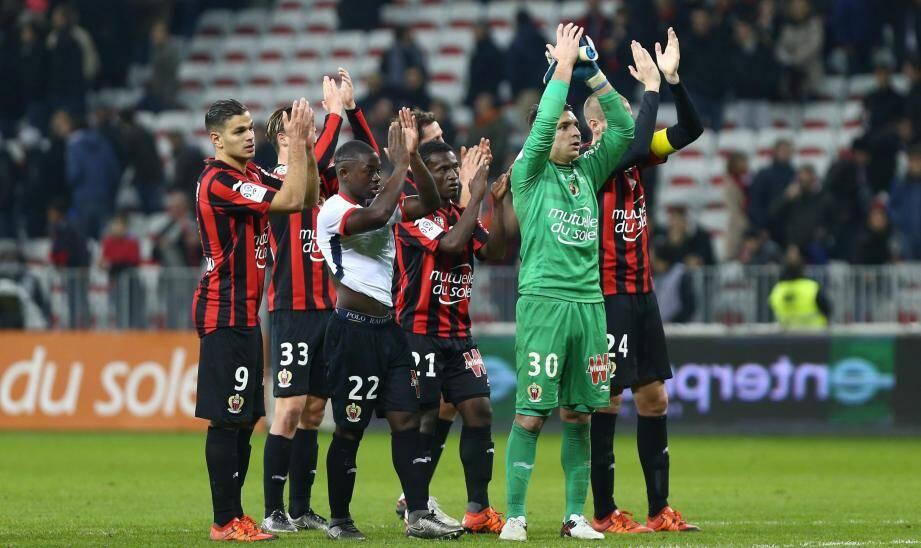 Les Niçois recevront Montpellier vendredi (20 h 30) à l'Allianz Riviera avant de partir en congés.