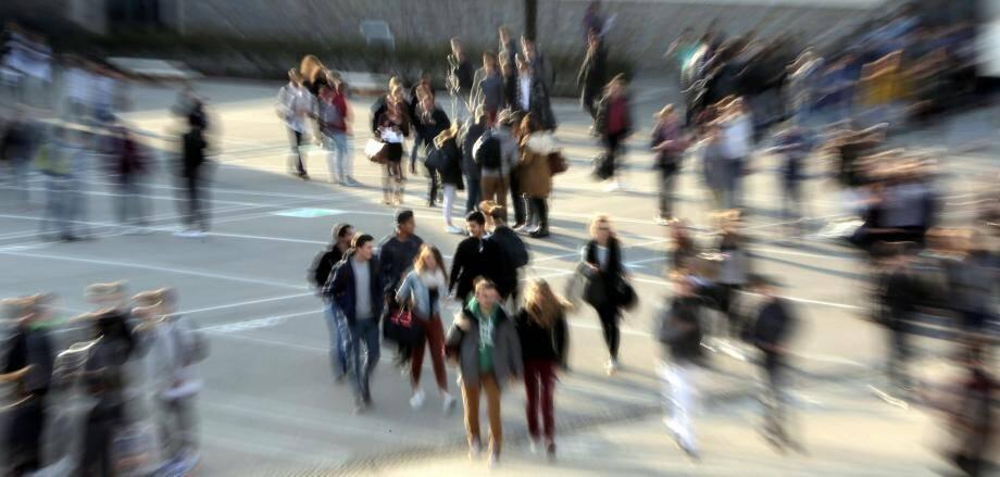 Le Muy, lycée Val d'Argens, avant-hier. Les équipes pédagogiques s'y sont réunies pour une journée académique de la persévérance.