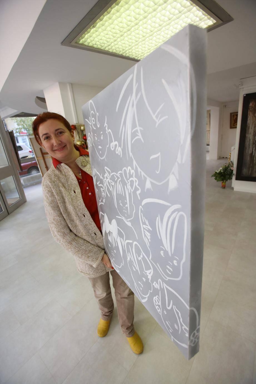 Séverine Vermorel représente la France pour l'exposition d'art de l'Année Sainte dans la galerie du Vatican.