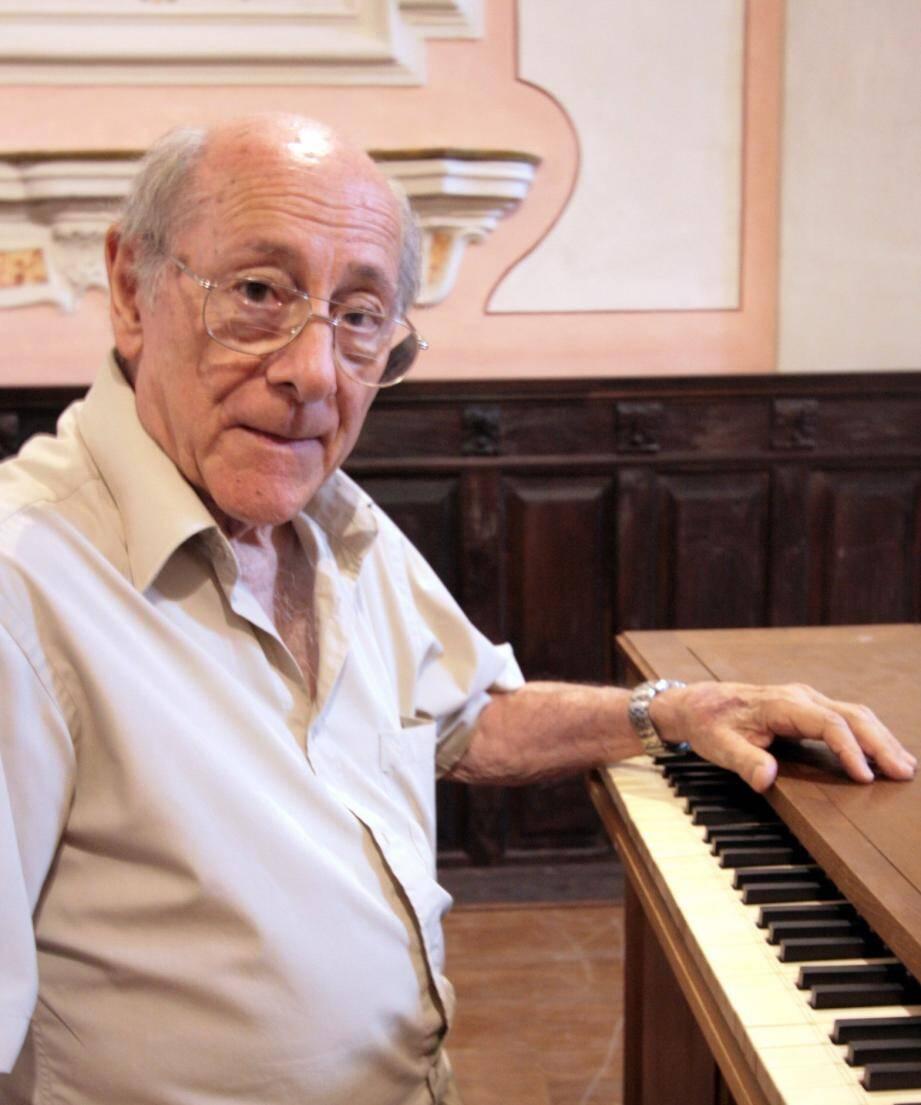 L'ancien organiste de la cathédrale, de 1984 à 2005, vient de nous quitter à l'âge de 87 ans.(DR)