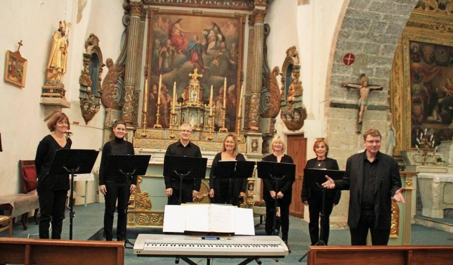 Sous la direction de Yann Nolle, les choristes ont enchanté le public.