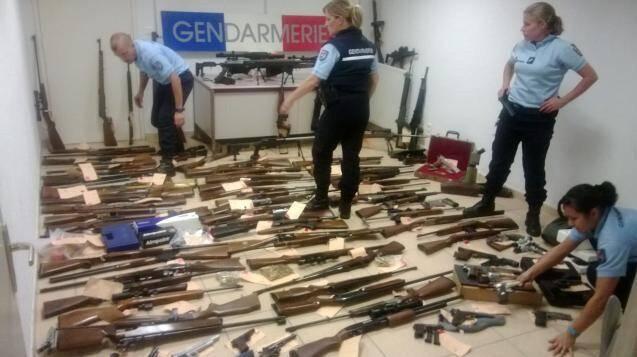 Ni trafiquant ni terroriste mais collectionneur, le brave retraité, président d'un club de tir, possédait un arsenal. Il a été condamné à du sursis.(DR)