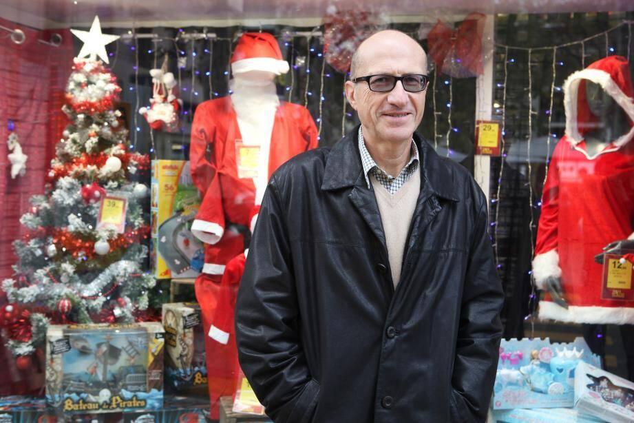 Jean-Michel Cloppet, président de la Fédération des commerçants et artisans.