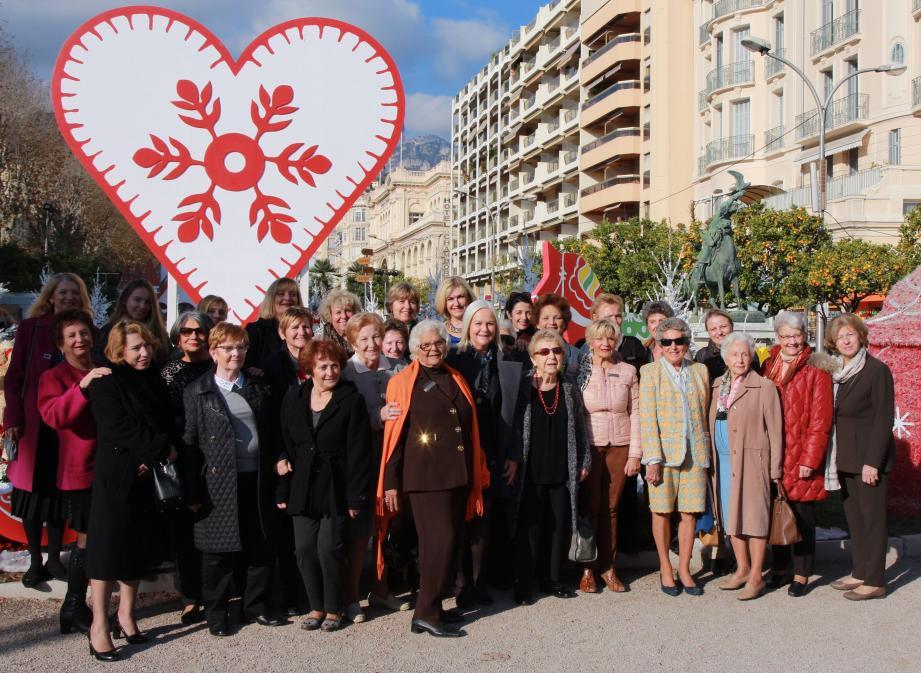 Les membres des clubs Soroptimist des Alpes-Maritimes ont fêté la naissance de la Déclaration des Droits de l'homme et du citoyen à Menton.