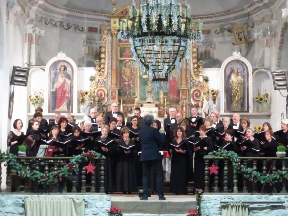 Le Chœur philharmonique de Nice.