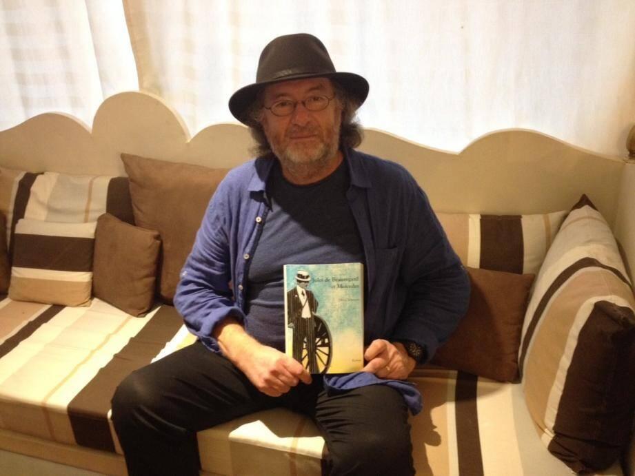 C'est le peintre, dessinateur et auteur autrichien Haralampi G. Oroschakoff, retiré à Théoule, qui a illustré la couverture de l'ouvrage de Denis Johnson.