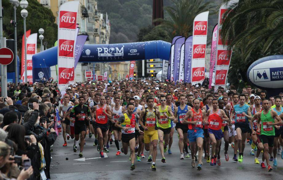 9000 coureurs sont attendus sur la Promenade des Anglais dimanche 10 janvier.