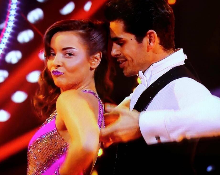 La Niçoise Priscilla Betti et le Varois Christophe  Licata, duo malheureux de la finale de Danse avec les stars.