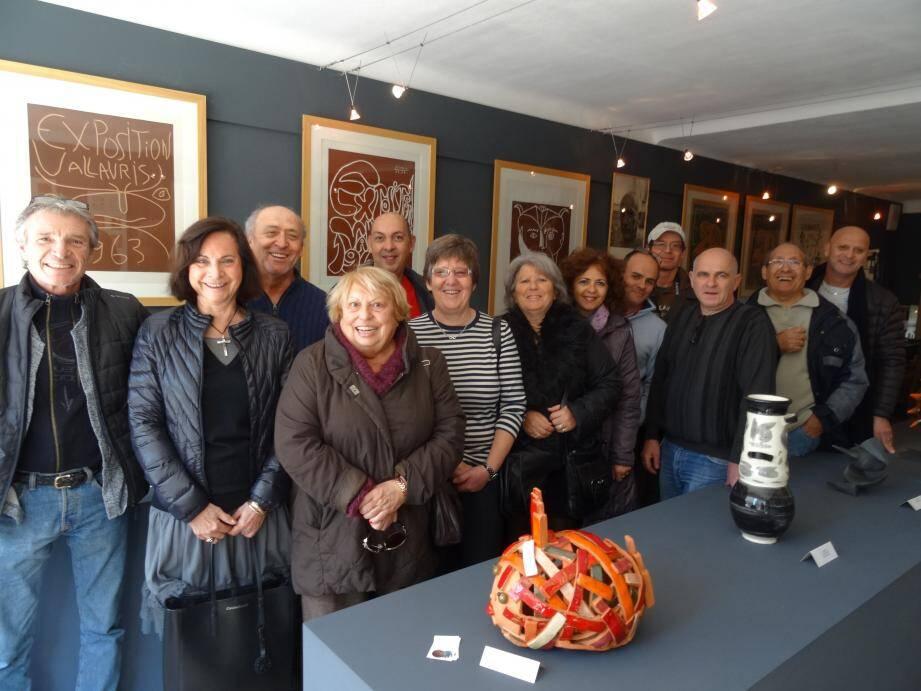 L'exposition est visible jusqu'à samedi à l'Association vallaurienne d'expansion céramique.
