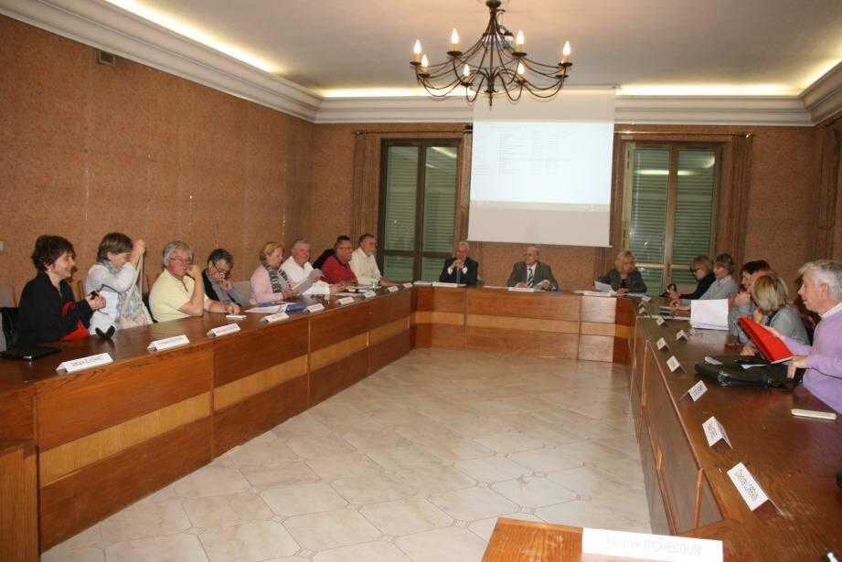 Les élus se sont réunis en conseil pour la dernière fois de l'année.