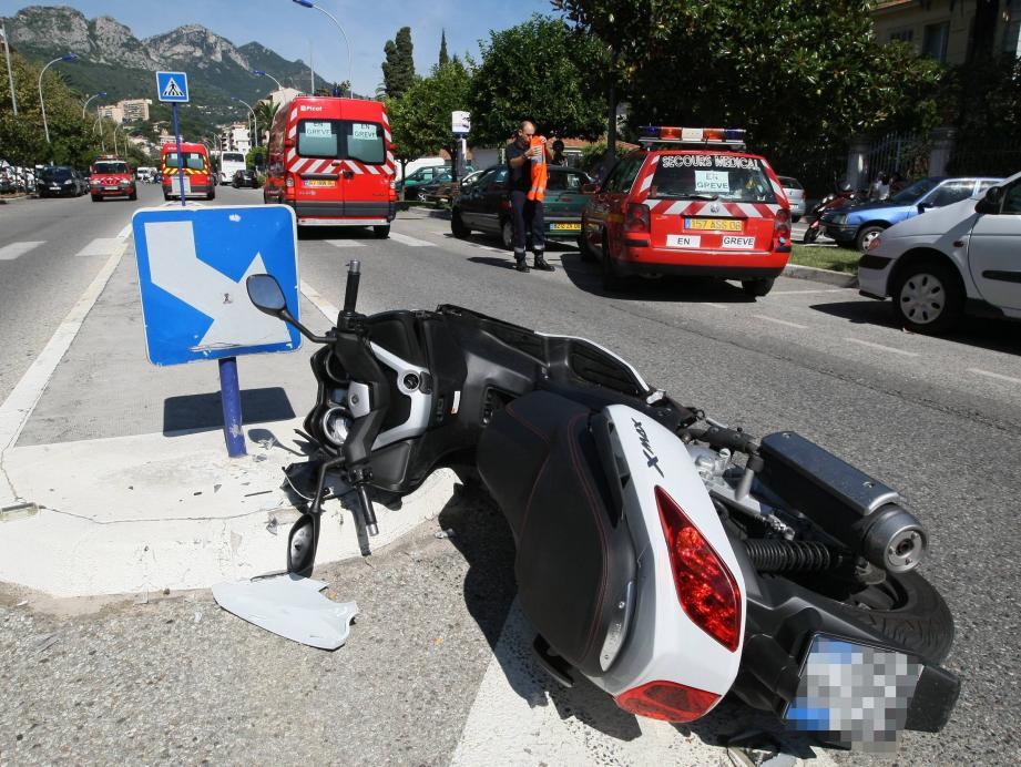 Les deux-roues, premières victimes de la route