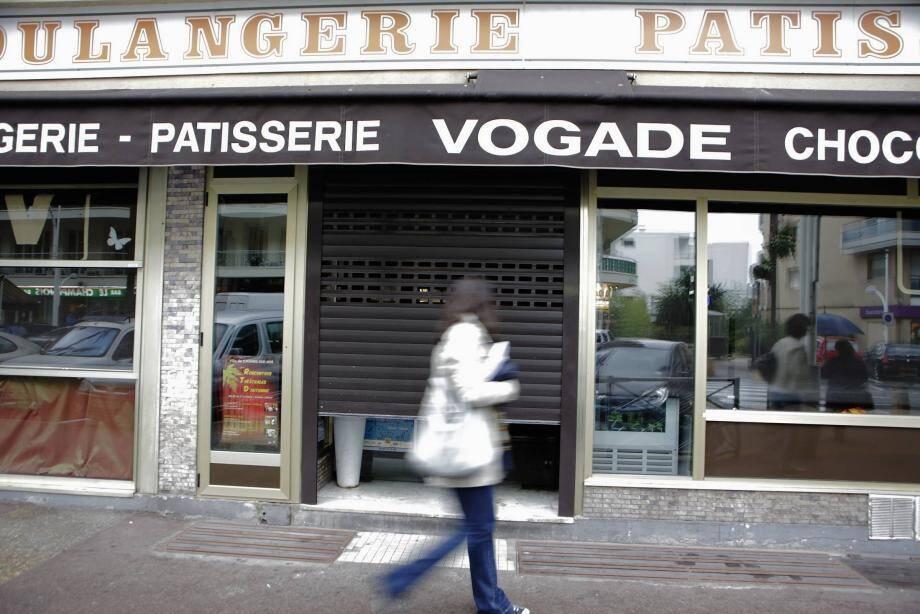 La boulangerie cagnoise où Maryline avait été agressée.