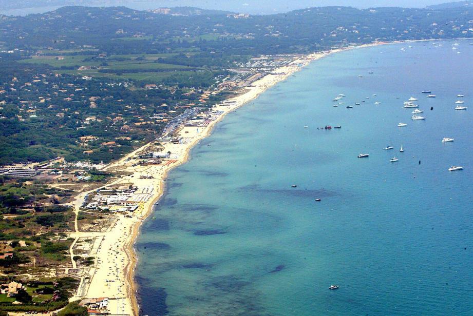 Les plages de Pampelonne.