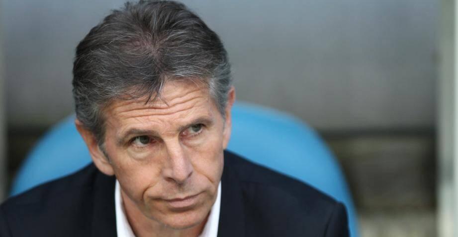 L'entraineur de Nice, Claude Puel