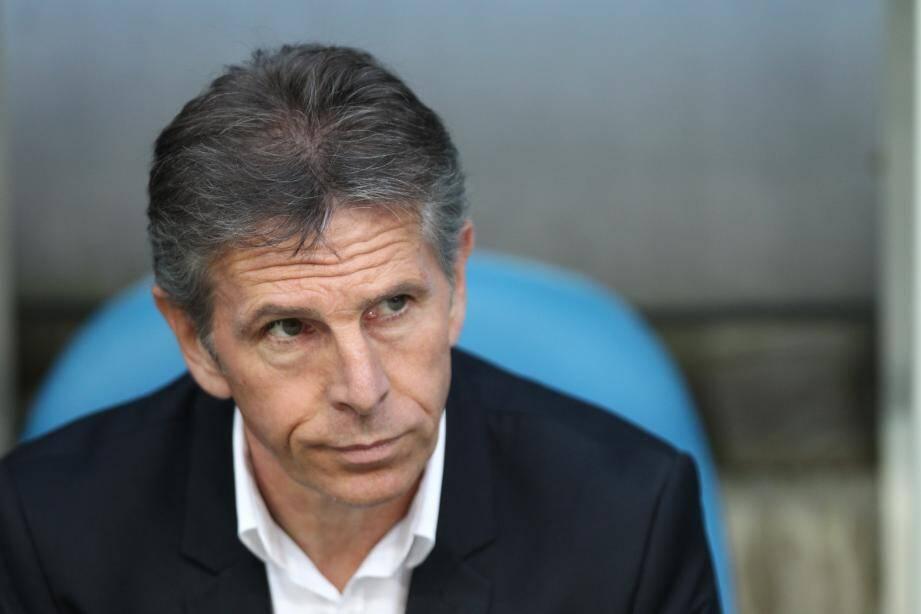 L'entraineur de Nice Claude Puel