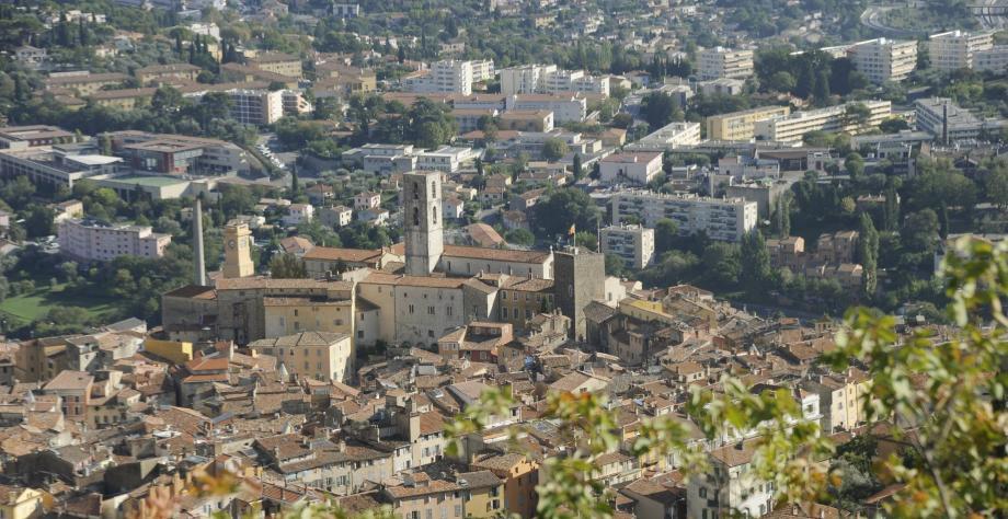 Une vue de la ville de Grasse (image d'illustration).