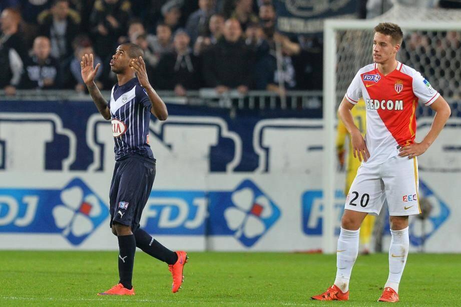 Monaco-Bordeaux, huitièmes de finale de Coupe de la Ligue.
