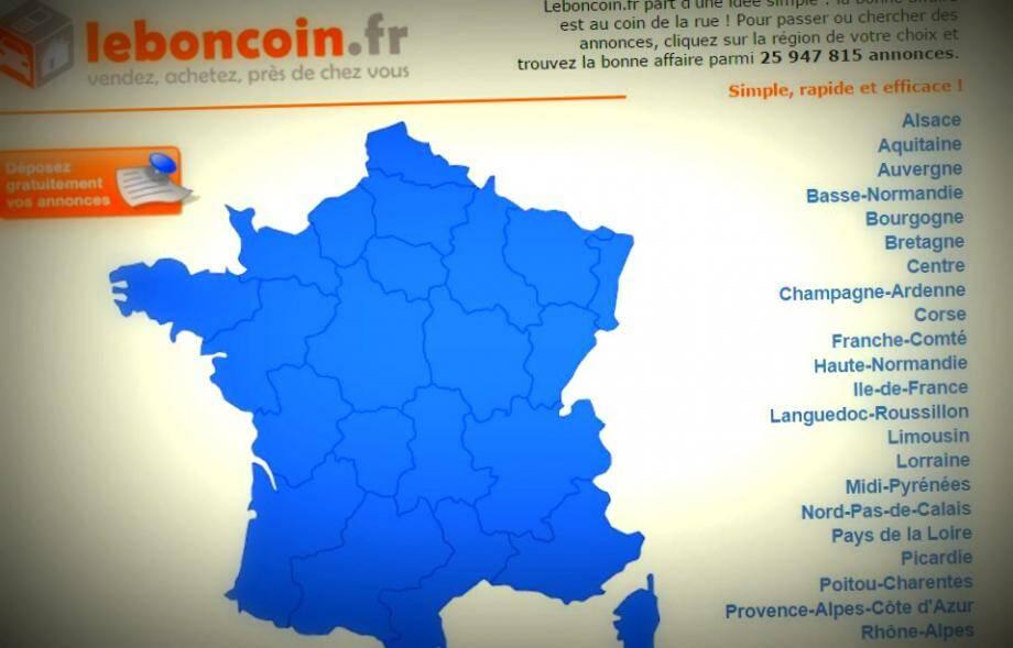 Le site d'annonces gratuites Le Bon Coin.