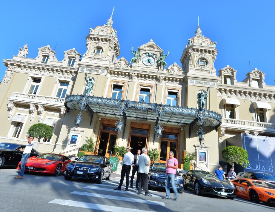 La place du Casino de Monaco.