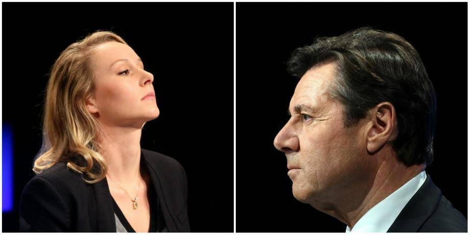 Marion Maréchal- Le Pen a privilégié hier les interventions médiatiques au terrain. De son côté, Christian Estrosi a dénoncé les attaques «honteuses et personnelles du clan Le Pen».