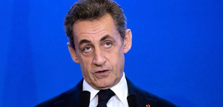 Nicolas Sarkozy, distancé dans les sondages, tiendra une réunion publique mardi 26 avril à Nice.