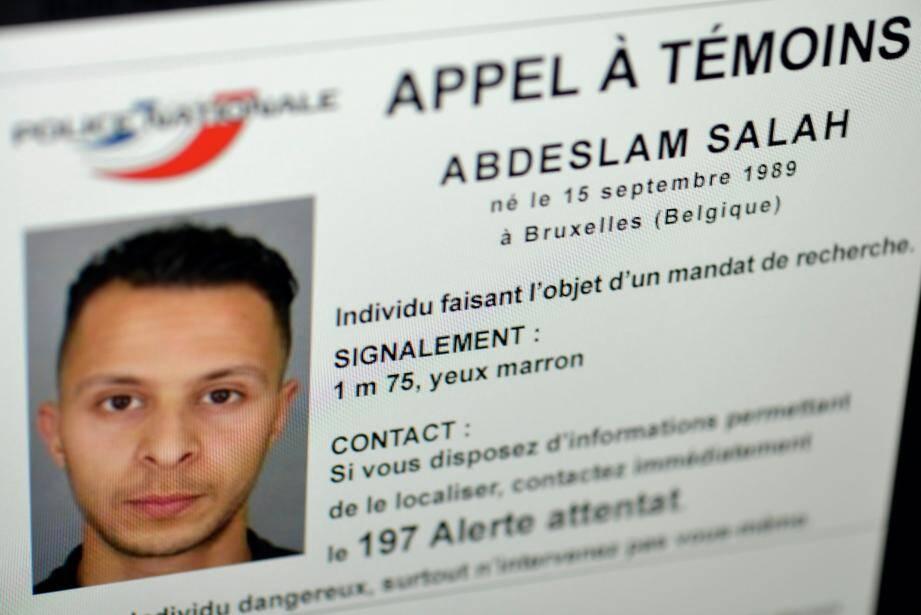 Appel à témoins sur Salah Abdeslam.