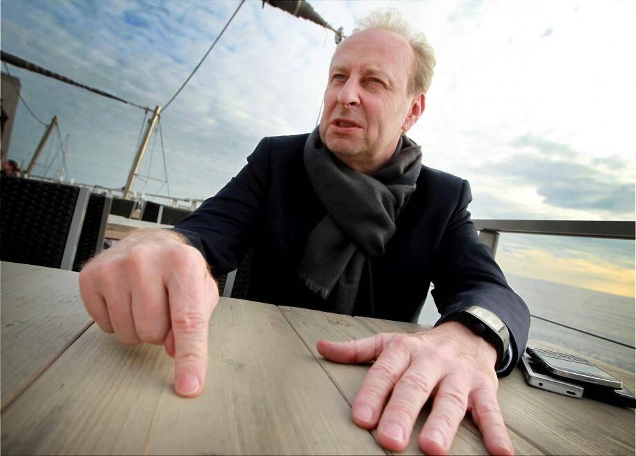 Yves Bouvier, marchand d'art spécialisé dans le transport et l'entreposage d'oeœuvres d'art et d'objets de valeur.