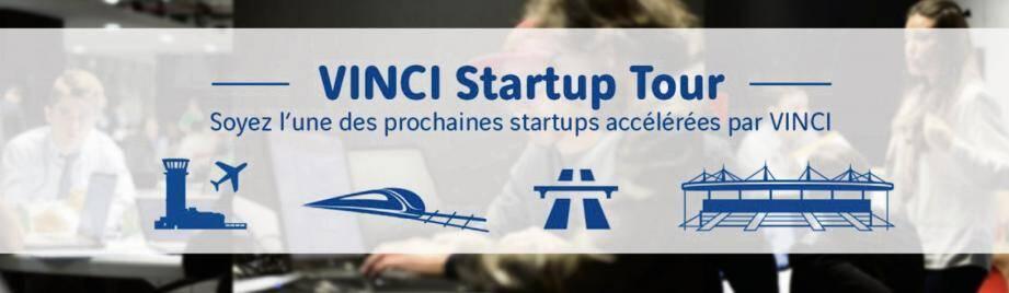 Le Vinci Startup Tour s'adresse à des starts-up développant de nouveaux services ou produits visant à améliorer et à optimiser l'expérience client digitale dans les autoroutes, aéroports et les stades.(D.R.)