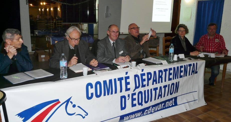 Le président Pierre Breu a dressé le bilan de l'année.