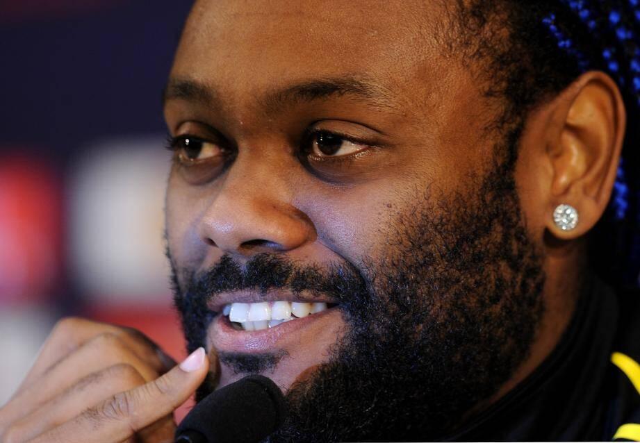 Le nouvel attaquant de l'AS Monaco, Vagner Love, sourit à la vie.