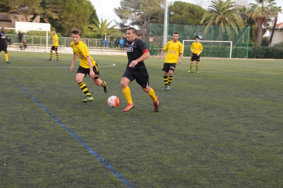 Le capitaine Romain Giraud et les Berlugans ont offert un festival de buts face au Pontet.