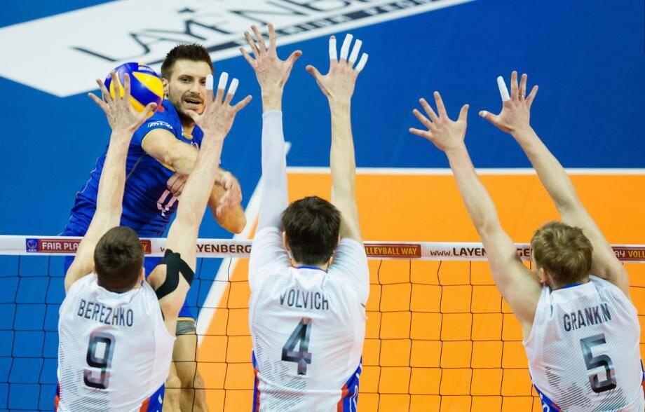 Antonin Rouzier face au block russe : on ne passe pas !