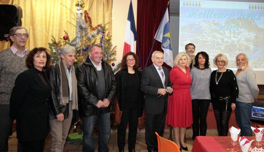 De nombreuses réalisations pour l'année 2016 présentées par le maire Michel Calmet à l'occasion des vœux municipaux.