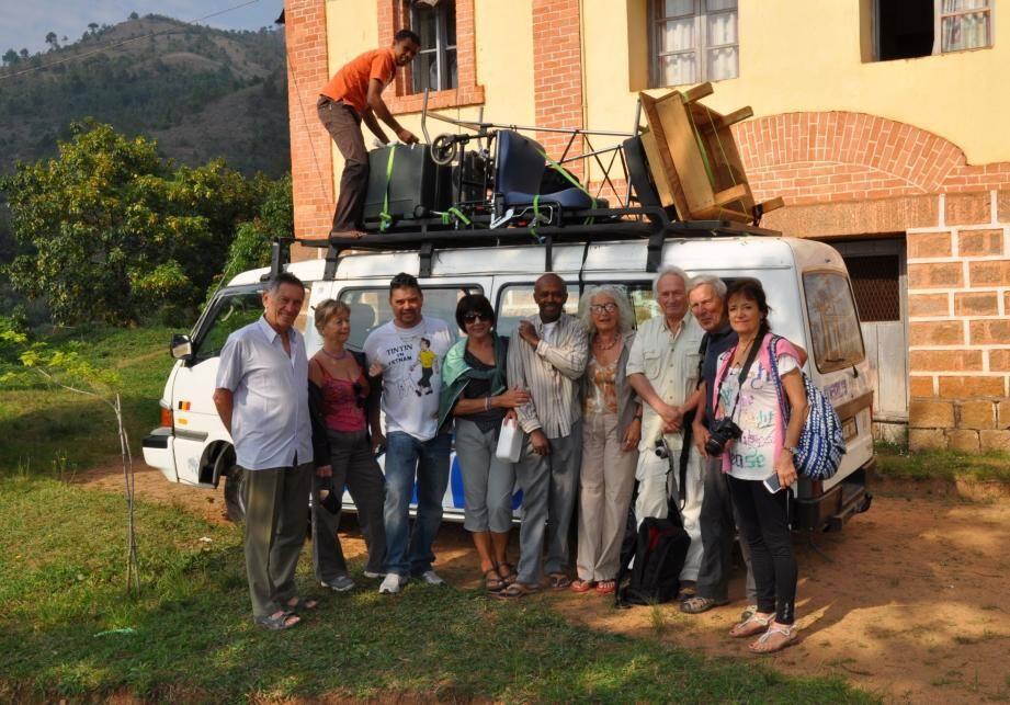 L'équipe a poursuivi son programme de soins itinérants dans la région d'Ambositra.(DR)