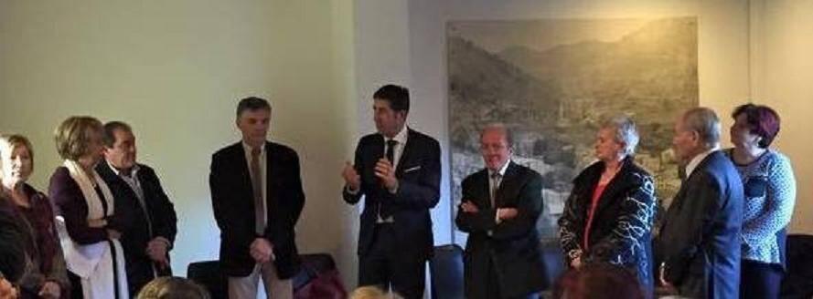 Durant son intervention, Charles-Ange Ginésy a affirmé son « soutien total » aux projets portés par le maire, Michèle Bellery.