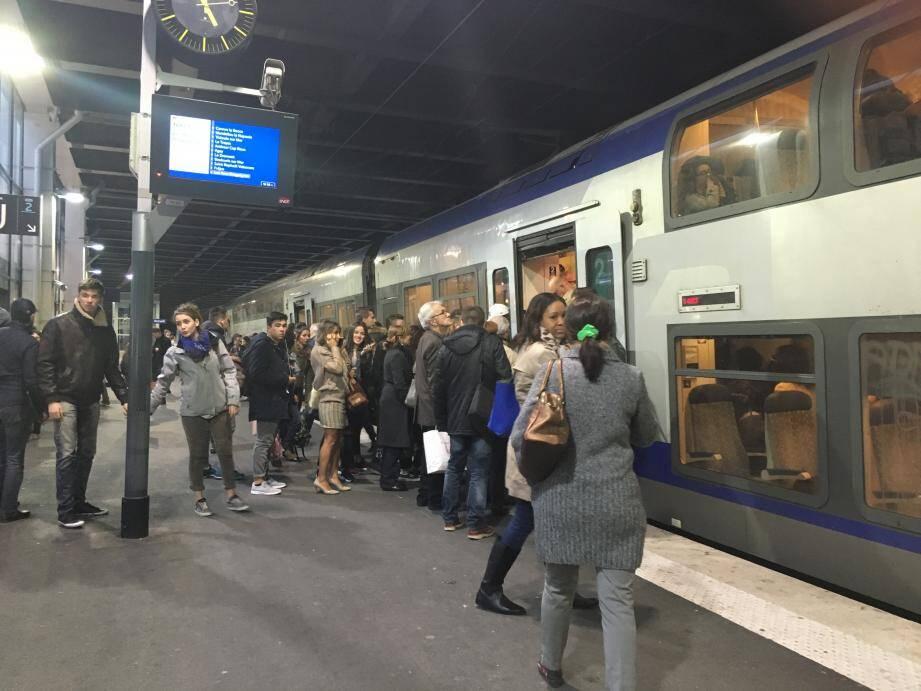 La gare de Cannes.