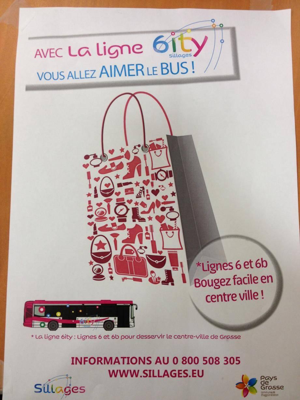 La campagne de Sillages pour promouvoir la ligne 6 voit la vie en rose.