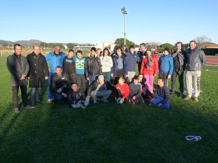 Journée ludique et tonique à Galliéni pour les jeunes gens de l'IME Estérel.