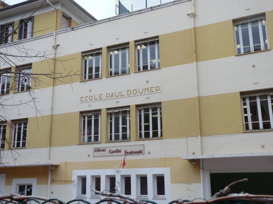 L'école Paul-Doumer de Beausoleil. Un ou plusieurs individus s'y seraient introduits récemment.