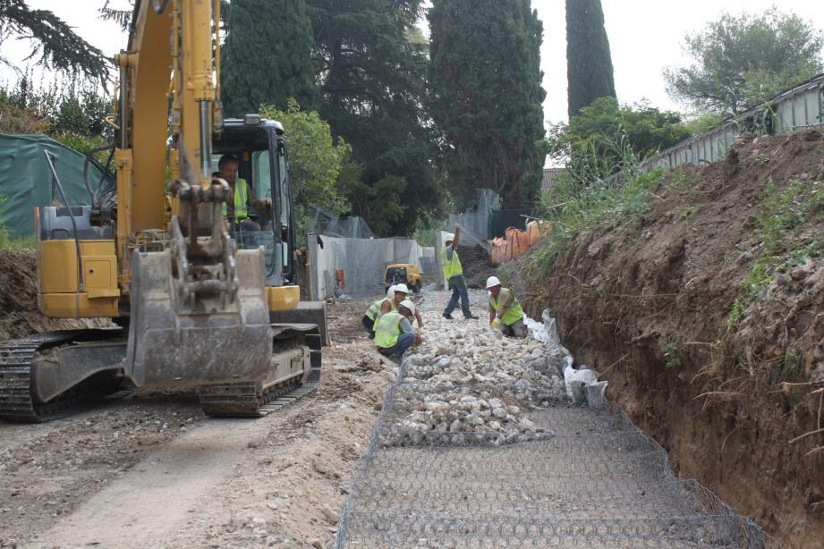 Plus de 2,6 millions d'euros ont été investis pour l'assainissement.