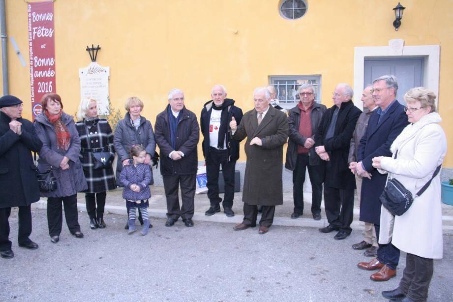 Le maire, Antoine Véran, et son conseil municipal ont remercié les participants à la Saint-Vincent.
