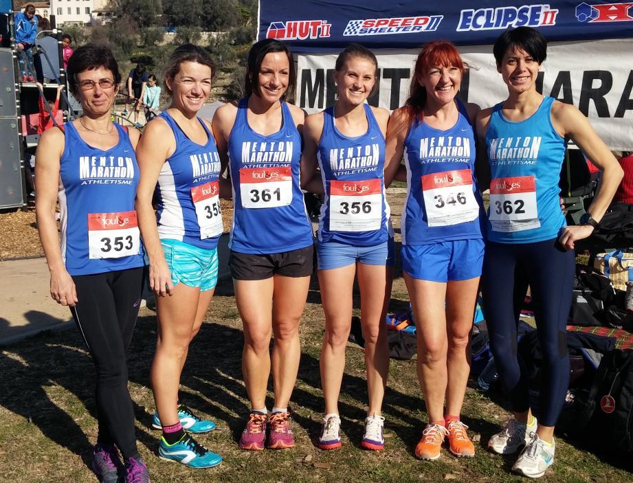 De gauche à droite : Karine Lorvellec, Sandra Rubio, Marie Vogade, Julie Romera, Catherine Cinneri et Virginie Weishaus.(D.R.)